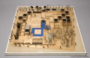 Maquette de l'Agora du square Viger de Charles Daudelin, 1983.