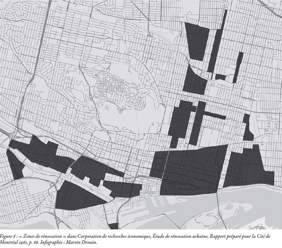650 hectares déclarés «zone de déblaiement» en 1961. C'est à dire, 29000 familles, 120000 personnes qui devaient être expulsées, soit 70% de la population des 17 zones concernées