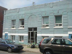 Ancienne école Chevrim Israel, 6675 rue Marquette (photo : Bernard Vallée, 2010)